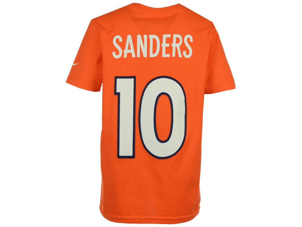 2370cb909 Denver Broncos Emmanuel Sanders Nike NFL Youth Pride Name and Number T-Shirt