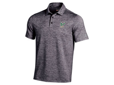 South Florida Bulls Under Armour NCAA Elevated Heather Polo Shirt