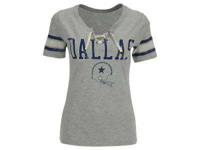 Dallas Cowboys NFL Women's Newcomb Lace T-Shirt