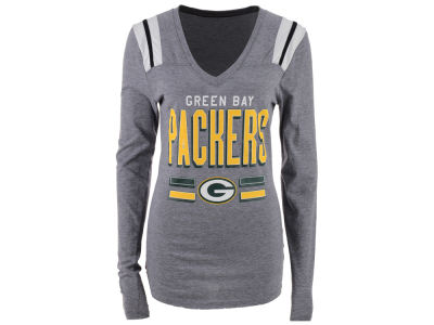 Green Bay Packers NFL Women's Free Kick Long Sleeve T-Shirt
