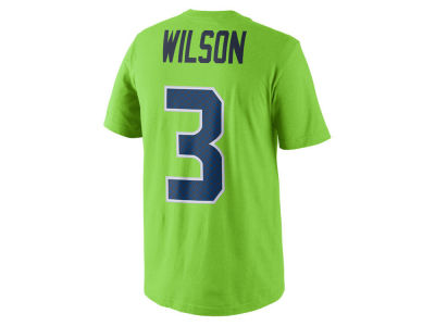Seattle Seahawks Russell Wilson NFL Youth Pride Name and Number T-Shirt