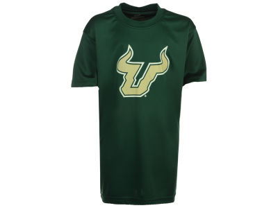 South Florida Bulls Colosseum NCAA Youth Primary Logo Poly T-Shirt