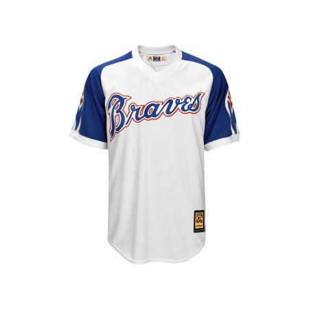 Atlanta Braves Majestic MLB Men's Cooperstown Blank Replica Cool Base Jersey