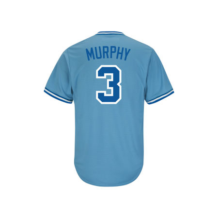 Atlanta Braves Dale Murphy Majestic MLB Men's Cooperstown Player Replica CB Jersey