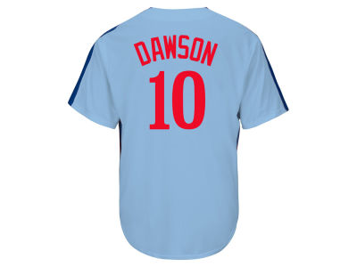 Montreal Expos Andre Dawson Majestic MLB Men's Cooperstown Player Replica CB Jersey