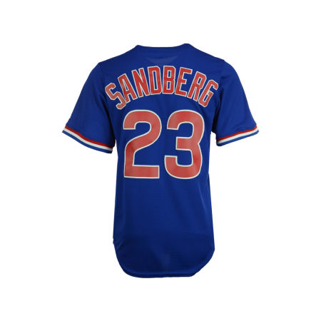 Chicago Cubs Ryne Sandberg Majestic MLB Men's Cooperstown Player Replica CB Jersey