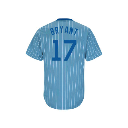 Chicago Cubs Kris Bryant Majestic MLB Men's Cooperstown Player Replica CB Jersey
