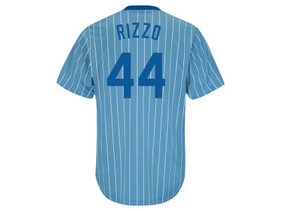 Chicago Cubs Anthony Rizzo Majestic MLB Men's Cooperstown Player Replica CB Jersey