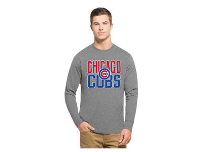 Chicago Cubs '47 MLB Men's Power Alley Long Sleeve T-Shirt