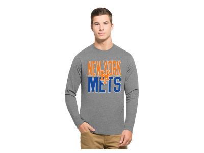 New York Mets '47 MLB Men's Power Alley Long Sleeve T-Shirt