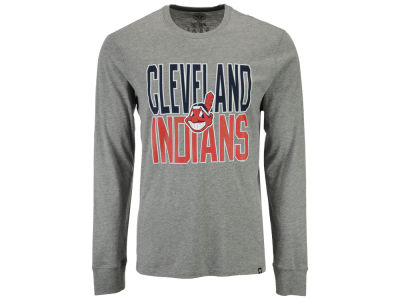 Cleveland Indians '47 MLB Men's Power Alley Long Sleeve T-Shirt
