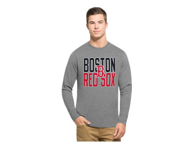 Boston Red Sox '47 MLB Men's Power Alley Long Sleeve T-Shirt