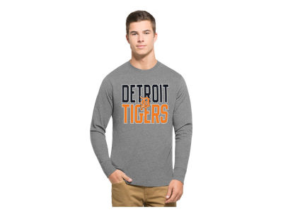 Detroit Tigers '47 MLB Men's Power Alley Long Sleeve T-Shirt
