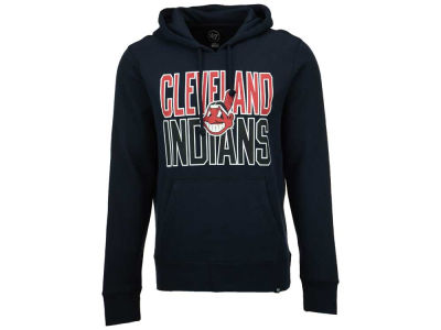 Cleveland Indians '47 MLB Men's Headline Power Alley Hoodie