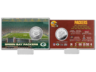 Green Bay Packers Highland Mint Coin Card - Champs