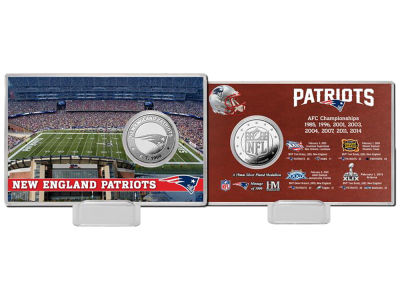 New England Patriots Highland Mint Coin Card - Champs