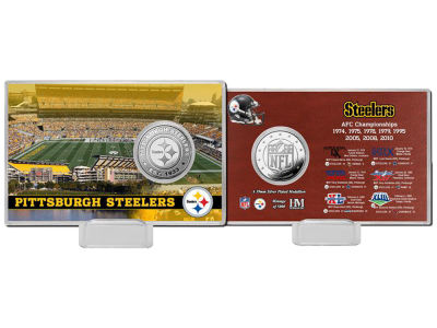 Pittsburgh Steelers Coin Card - Champs