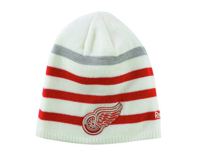 Detroit Red Wings Reebok NHL 2017 Centennial Classic Player Beanie