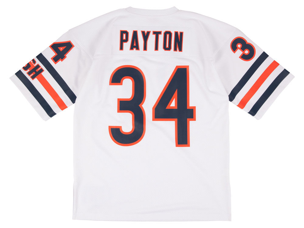 Chicago Bears Walter Payton Mitchell   Ness NFL Men s Authentic Football  Jersey  077087891