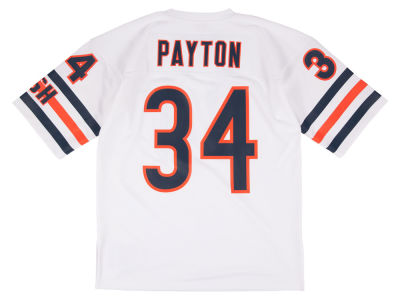 Chicago Bears Walter Payton Mitchell and Ness NFL Men's Authentic Football Jersey