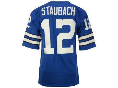 Dallas Cowboys Roger Staubach Mitchell and Ness NFL Men's Authentic Football Jersey