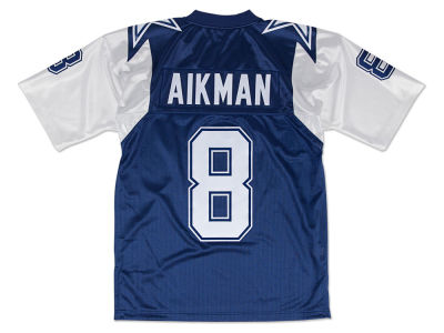 Dallas Cowboys Troy Aikman Mitchell & Ness NFL Men's Authentic Football Jersey