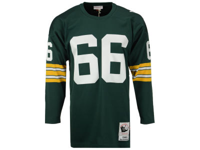 Green Bay Packers Rey Nitschke Mitchell and Ness NFL Men's Authentic Football Jersey