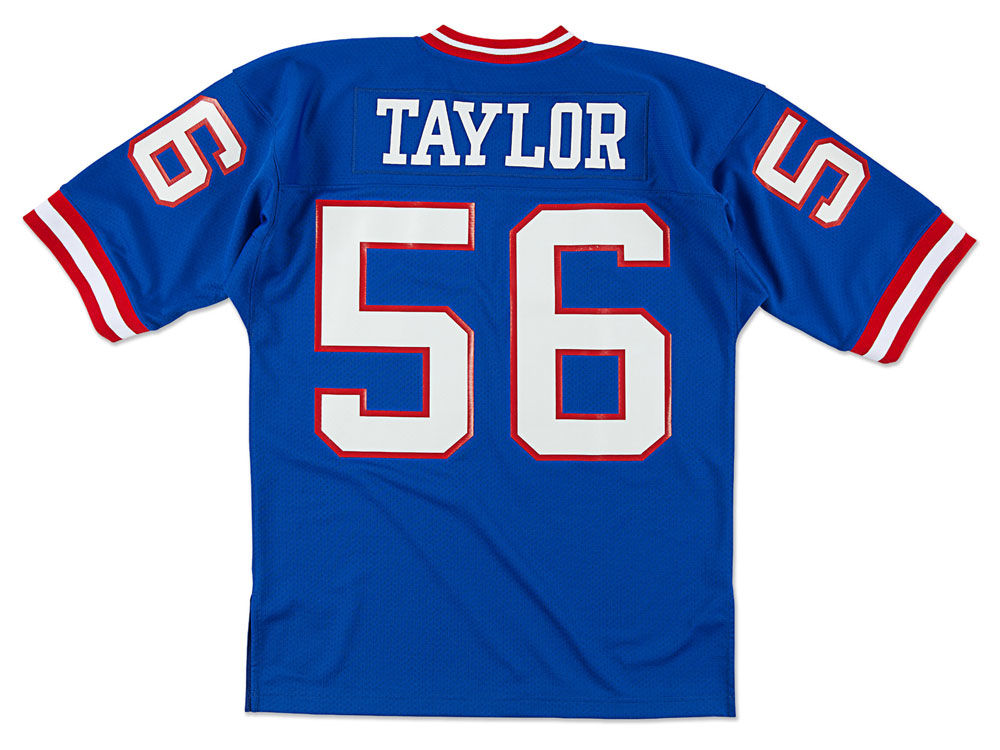 3d2a372f4 New York Giants Lawrence Taylor Mitchell   Ness NFL Men s Authentic Football  Jersey