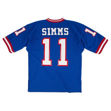 New York Giants Phil Simms Mitchell & Ness NFL Men's Authentic Football Jersey
