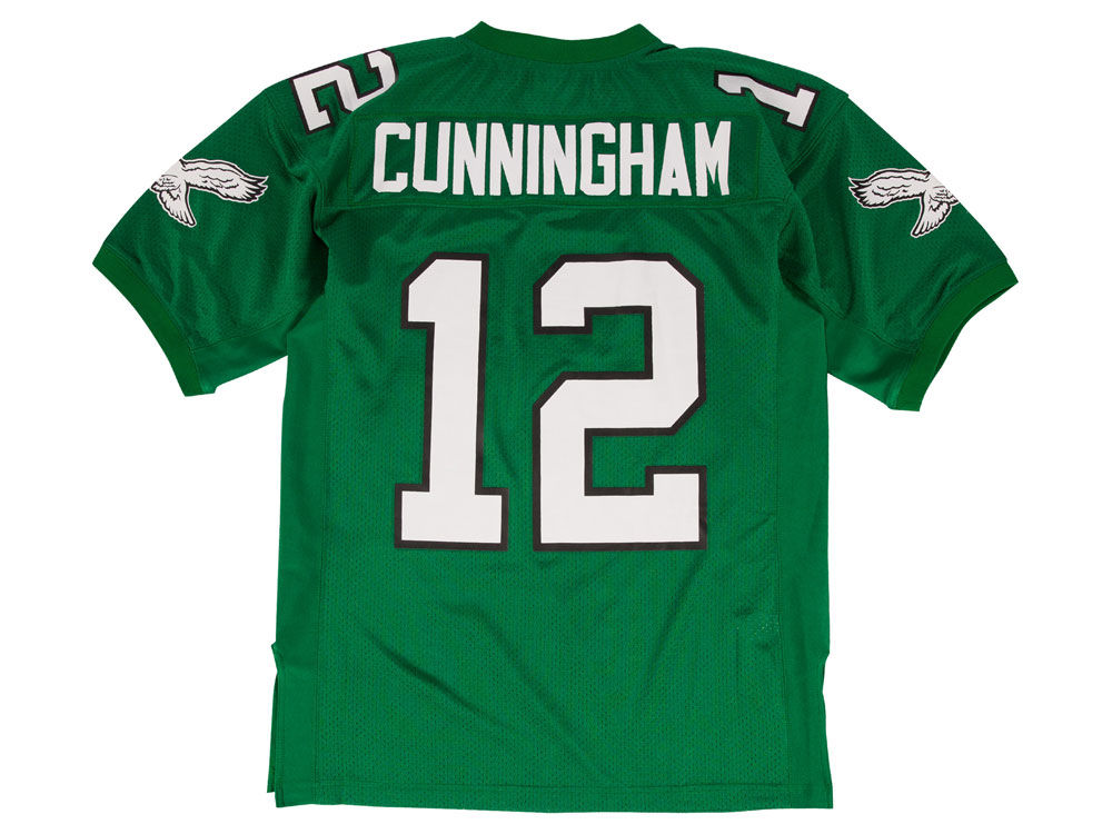 e162a4a75 Philadelphia Eagles Randall Cunningham Mitchell   Ness NFL Men s Authentic Football  Jersey