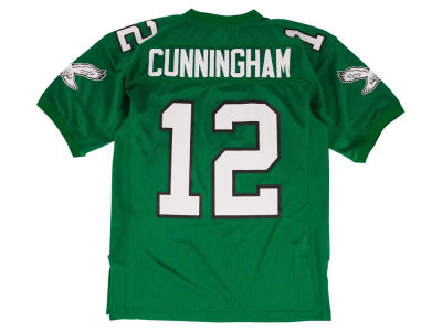 Philadelphia Eagles Randall Cunningham Mitchell and Ness NFL Men's Authentic Football Jersey