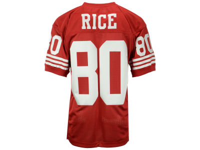 San Francisco 49ers Jerry Rice Mitchell and Ness NFL Men's Authentic Football Jersey