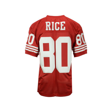 San Francisco 49ers Jerry Rice Mitchell & Ness NFL Men's Authentic Football Jersey