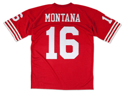 San Francisco 49ers Joe Montana Mitchell and Ness NFL Men's Authentic Football Jersey