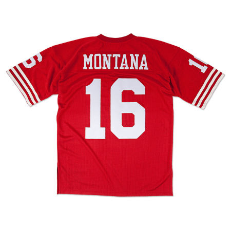 San Francisco 49ers Joe Montana Mitchell & Ness NFL Men's Authentic Football Jersey