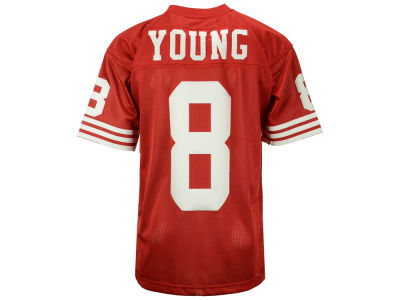 San Francisco 49ers Steve Young Mitchell and Ness NFL Men's Authentic Football Jersey