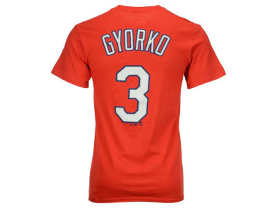 St. Louis Cardinals Jedd Gyorko MLB Men's Official Player T-Shirt