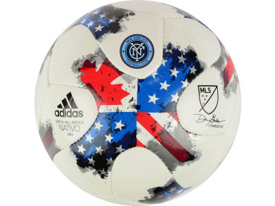 New York City FC adidas MLS Mini Soccer Ball
