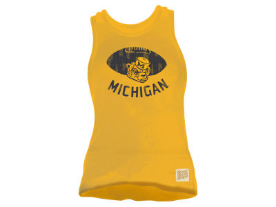 Michigan Wolverines Retro Brand NCAA Women's Muscle Tank