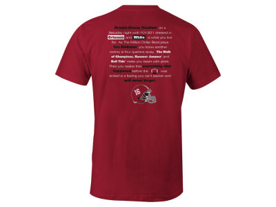 Alabama Crimson Tide NCAA Men's Local Tradition T-Shirt