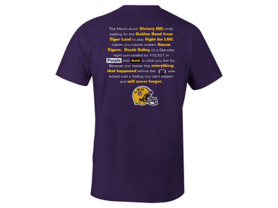 LSU Tigers LIDS NCAA Men's Local Tradition T-Shirt