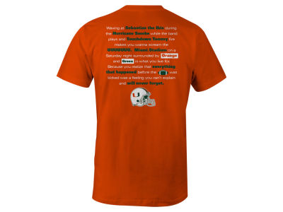 Miami Hurricanes LIDS NCAA Men's Local Tradition T-Shirt