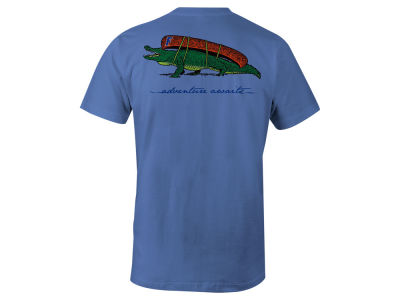 Florida Gators LIDS Men's Mascot Canoe Lifestyle T-Shirt