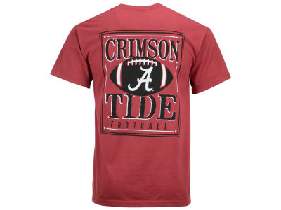 Alabama Crimson Tide LIDS NCAA Men's Distressed Football T-Shirt
