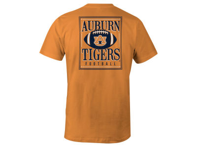 Auburn Tigers LIDS NCAA Men's Distressed Football T-Shirt