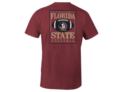 Florida State Seminoles LIDS NCAA Men's Distressed Football T-Shirt