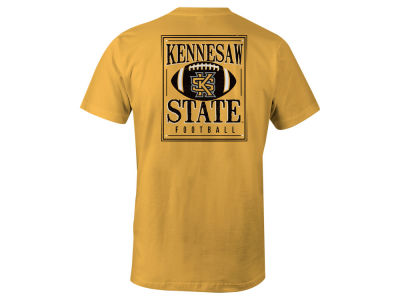 Kennesaw State Owls LIDS NCAA Men's Distressed Football T-Shirt