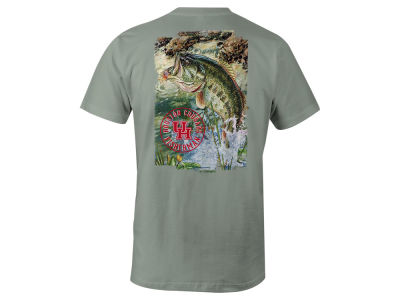 Houston Cougars LIDS NCAA Men's Fishing Pocket T-Shirt