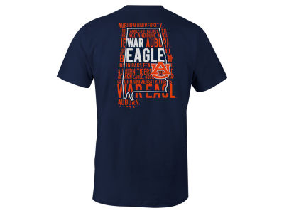 Auburn Tigers LIDS NCAA Men's State Verbiage T-Shirt