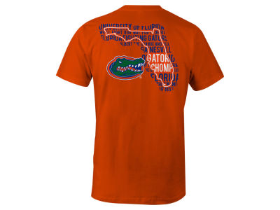 Florida Gators LIDS NCAA Men's State Verbiage T-Shirt